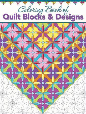 Buch - Coloring Book fo Quilt Blocks & Design