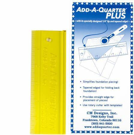 Add-A-Quarter Plus - gelb - 6 Inch