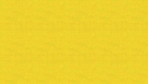 Makower Linen Texture  - Sunflower