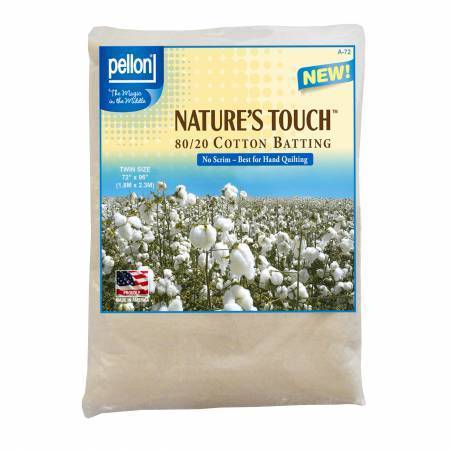 Vlies - Naturells Touch - 80/20 Cotton