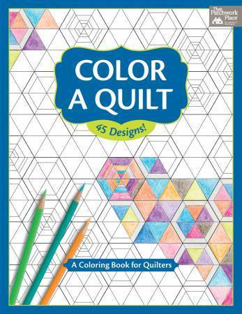 Buch - Color a Quilt