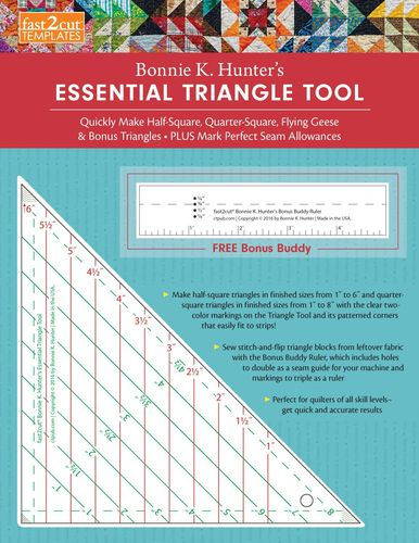 Bonnie K. Hunter's Essential Triangle Tool