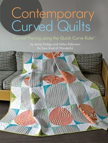 Buch - Contemporary Curved Quilts