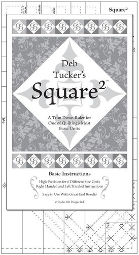 Deb Tucker's - Square Squared- Lineal