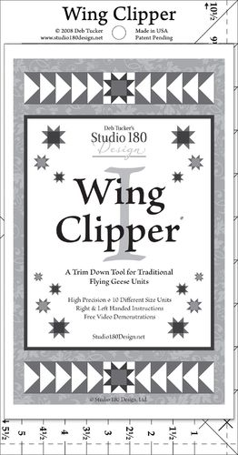 Wing Clipper - Deb Tucker - Lineal
