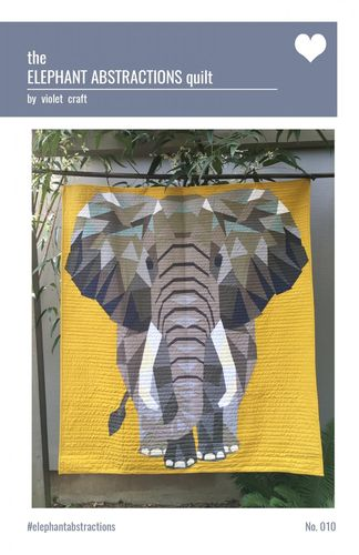 Elephant Abstractions Quilt - Anleitung
