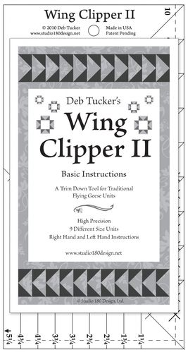 Deb Tucker - Wing Clipper II - Lineal