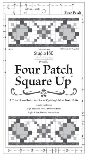Four Patch Square Up - Deb Tucker - Lineal