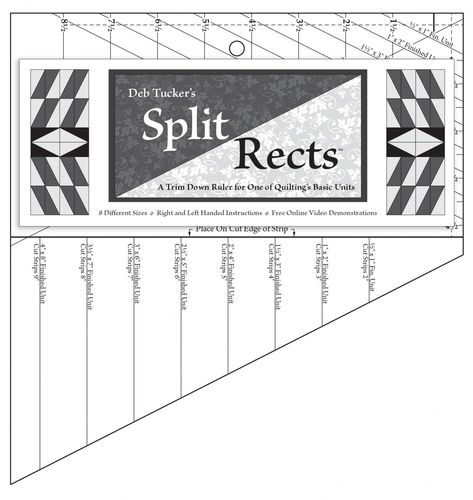 Split Rects - Deb Tucker - Lineal