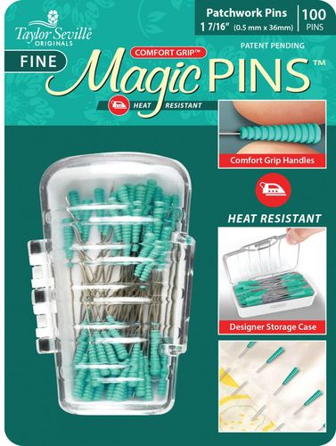 Magic Pins  100 Patchwork Pins Fine