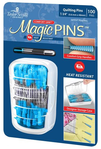 Magic Pins Quilting Pins