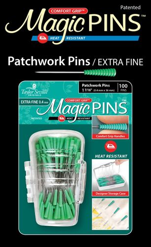Magic Pins Patchwork Pins Extra Fine