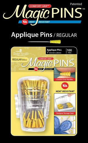 Magic Pins 100 Applique Pins