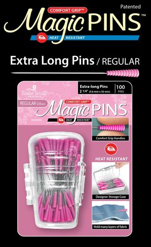 Magic Pins 100 Extra Long Pins