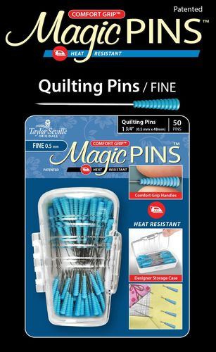 Magic Pins Fine Quilting Pins