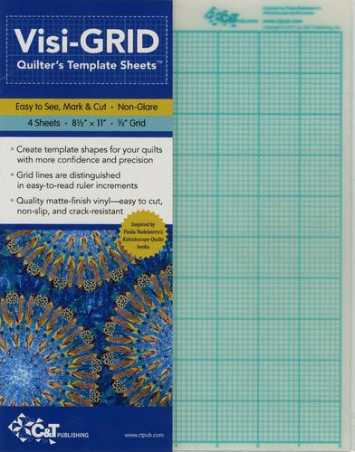 Visi-Grid Quilters Template Sheets
