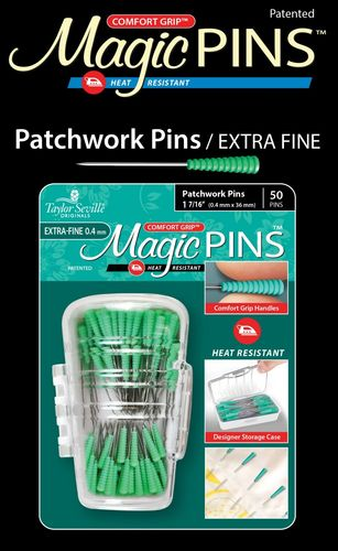 Magic Pins Patchwork Pins extra Fein