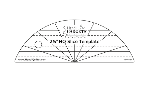 "HQ 2 1/4"" Slice Template"