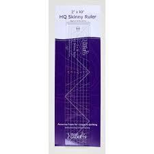"HQ Skinny Ruler 2""x10"" Quiltlineal"