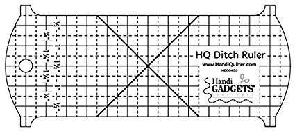 HQ Ditch Ruler Quiltlineal