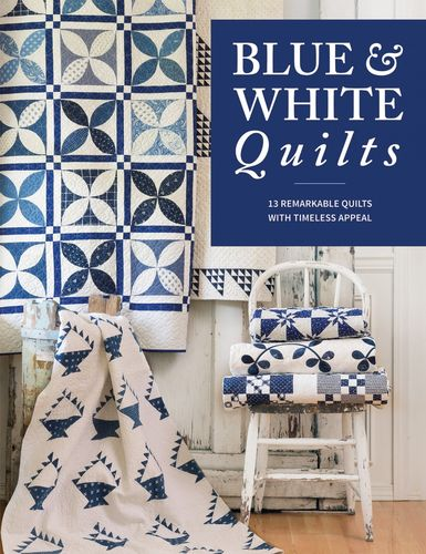 Blue & White Quilts Buch