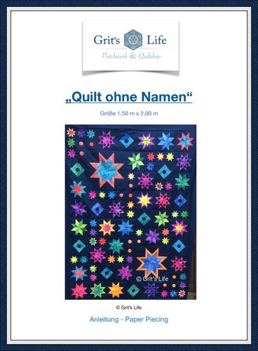 "Download Anleitung ""Quilt ohne Namen"" Grit's Life"