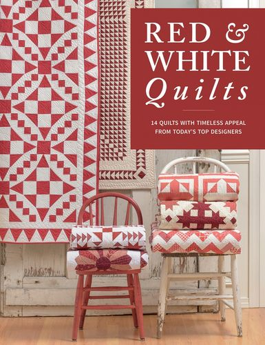 Red & White Quilts Buch