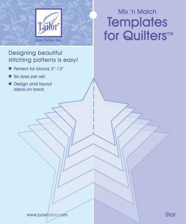 Template for Quilters Sterne