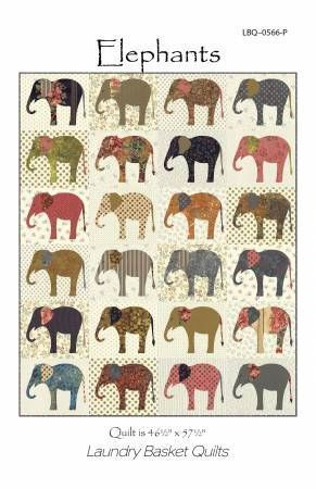 Elephants Anleitung Laundry Basket Quilts