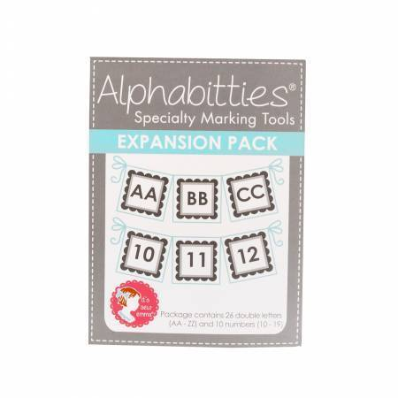 Alphabitties Expansion Pack Sew Emma