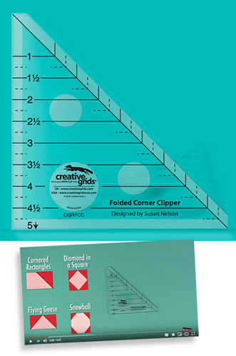 Folded Corner Clipper Creative Grids