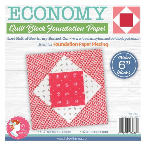 Quilt Block Foundation Paper 6 Inch Block