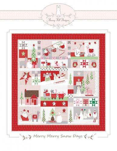 Merry Merry Snow Days Anleitung Bunny Hill Design