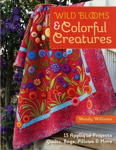 Wild Blooms & Colorful Creatures Buch Applikation