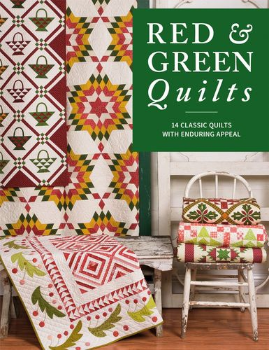Red & Green Quilts Buch