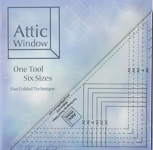 Attic Window Lineal One Tool Six Sizes