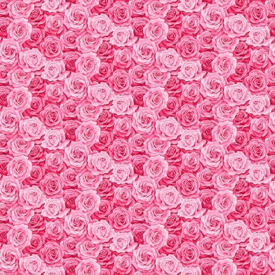 Makower - Summer Garden Packed Rose - rosa
