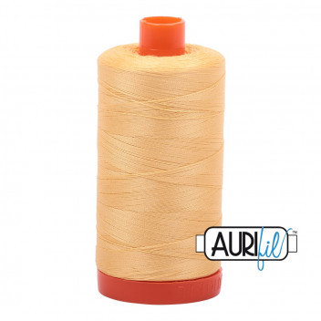 Aurifil 50 wt Medium Butter 2130