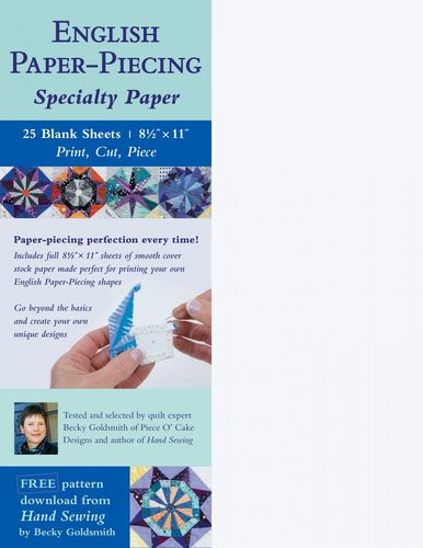 English Paper - Piecing Specialty Paper Becky Goldsmith